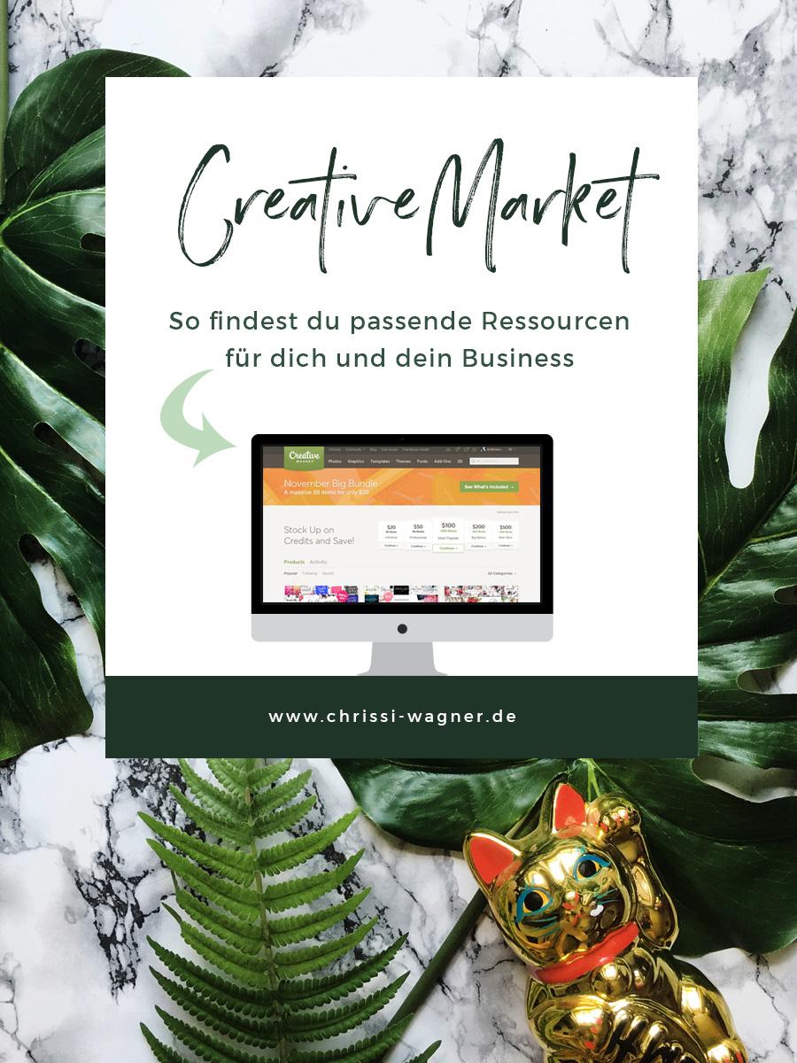 Mit Creative Market Grafik-Ressourcen für dein Business finden