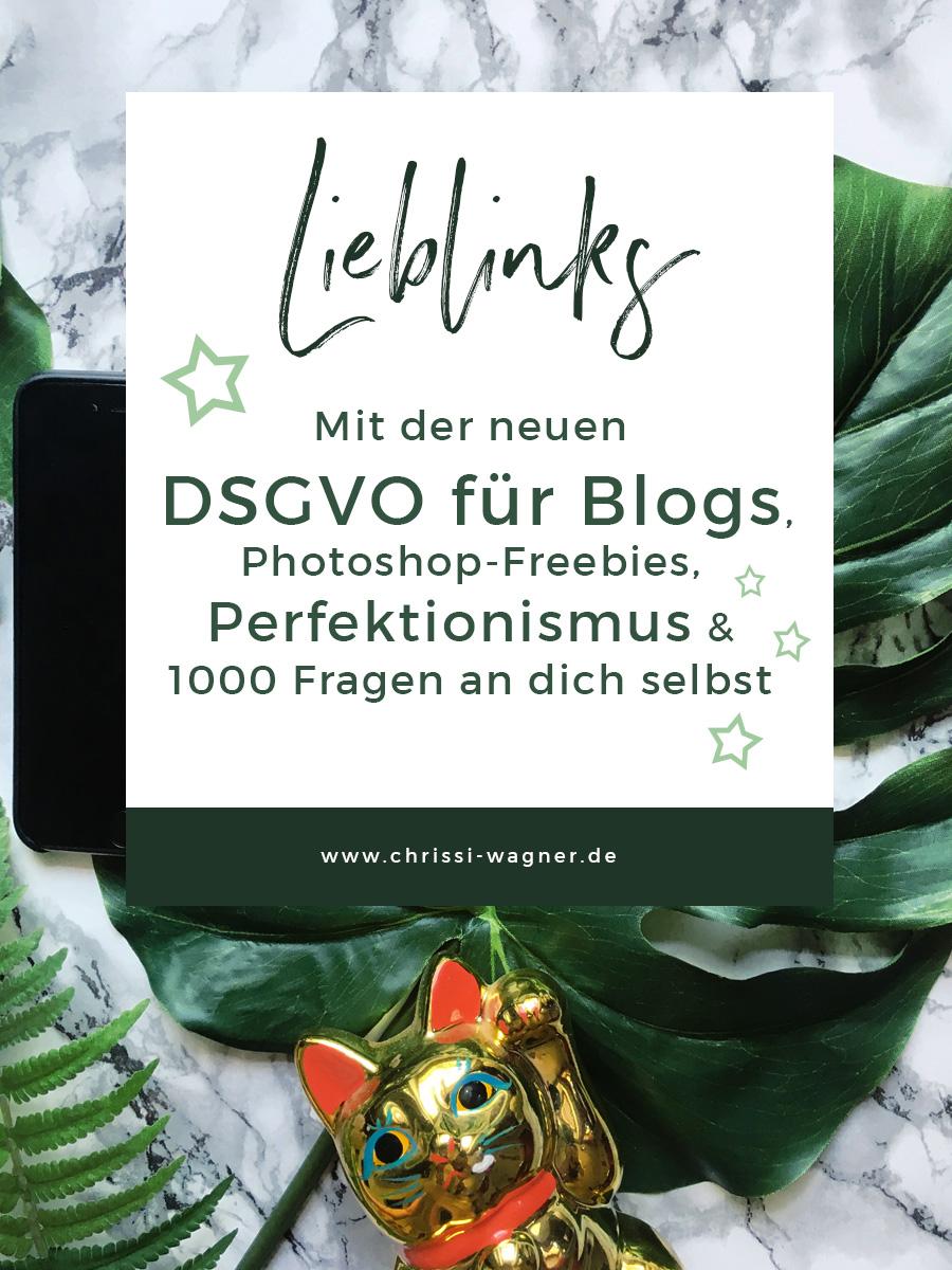 Über die neue DSGVO, Mittel gegen Perfektionismus und das Flow-Phänomen 1000 Fragen an dich selbst || chrissi-wagner.de