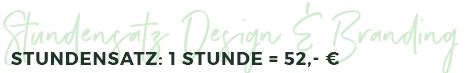 Chrissi Wagner.de: Stundensatz Design & Branding 2019
